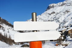 Mountain ski resort Stock Photography