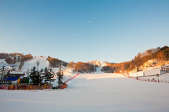 Mountain Ski Resort Royalty Free Stock Photo