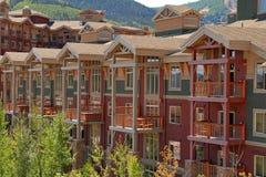 Mountain Ski Resort Royalty Free Stock Photos
