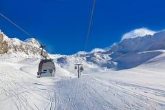Mountain ski resort Hochgurgl Austria Royalty Free Stock Photos