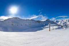 Mountain ski resort Hochgurgl Austria Royalty Free Stock Images