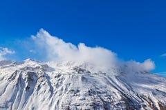 Mountain ski resort Hochgurgl Austria Stock Photography