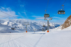 Mountain ski resort Hochgurgl Austria Stock Images