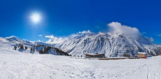 Mountain ski resort Hochgurgl Austria Royalty Free Stock Image