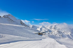 Mountain ski resort Hochgurgl Austria Stock Image