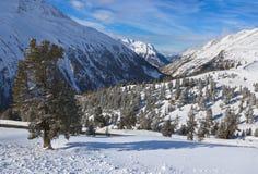 Mountain ski resort Hochgurgl Austria Stock Photos