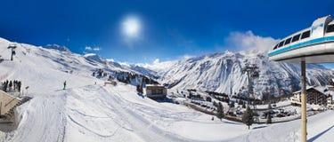 Mountain ski resort Hochgurgl Austria Royalty Free Stock Photo