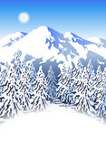 Mountain ski resort Stock Photo
