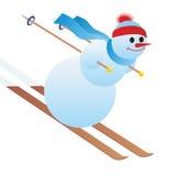 Mountain skier Stock Photo