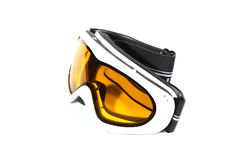 Mountain-skier glasses. Royalty Free Stock Photo