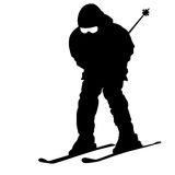 Mountain skier Stock Photography