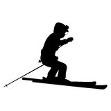 Mountain skier Stock Image