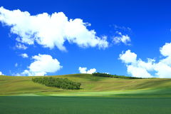 Mountain and sky Stock Photo