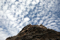 Mountain and sky Royalty Free Stock Images