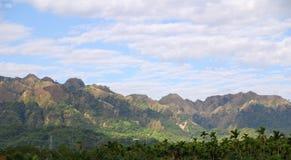 Mountain & sky Stock Photo