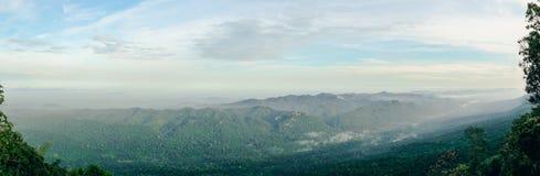 Mountain with sky Stock Photo