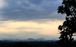 Mountain. Sky  at Loei Thailand Royalty Free Stock Photos