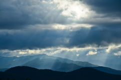 Mountain  and sky Stock Photography