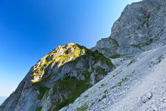 Mountain slope Royalty Free Stock Photography