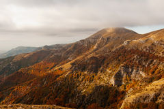 Mountain slope Stock Images