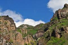 Mountain slope in Armenia Stock Photos