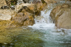 Mountain small river Royalty Free Stock Image