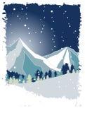 Mountain and snow Stock Photos