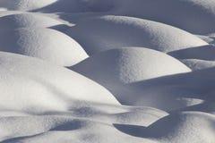 Mountain Snow Moguls Stock Images