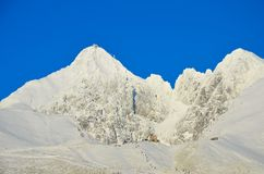 Mountain of snow Royalty Free Stock Image