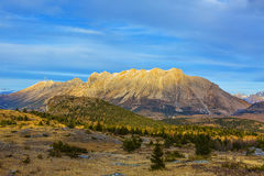 Mountain Without Snow in Winter Royalty Free Stock Photo
