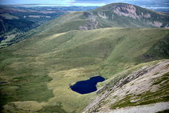 Mountain in Snowdonia Royalty Free Stock Images