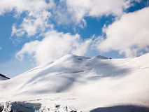Mountain snowed in Royalty Free Stock Photography