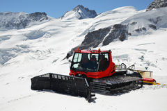 Mountain snowplough Royalty Free Stock Images