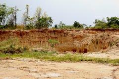 Mountain soils Stock Photography