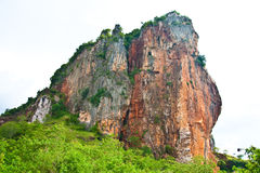 Mountain in south of Thailand Stock Photo