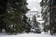 Mountain Spa Karlova Studanka, Czech republic royalty free stock photo