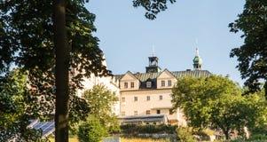Mountain St. Anna Basilica, Franciscan monastery and the Interna Royalty Free Stock Photo
