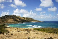 Mountain of St-Marteen Royalty Free Stock Photography