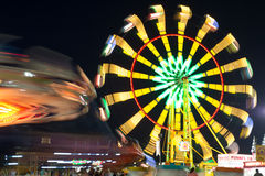 Mountain State Fair Lights Royalty Free Stock Image