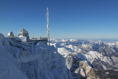 Mountain station on Zugspitze Stock Photography
