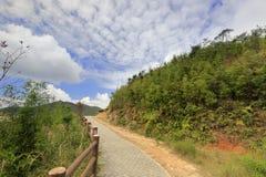 Mountain stone road Stock Image