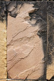 Mountain stone of Wall. Royalty Free Stock Photo