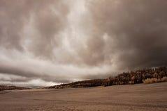 Mountain Storm Approaching Stock Photo