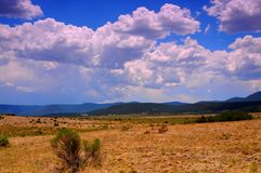 Mountain Storm Approaching Royalty Free Stock Photo