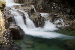 A Mountain Stream. A beautiful mountain stream and water Stock Photos