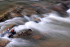 Mountain Stream. Fast flow of a mountain stream Royalty Free Stock Photos