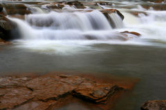 Mountain Stream. Fast flow of a mountain stream Stock Image