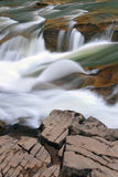 Mountain Stream. Fast flow of a mountain stream Stock Images