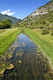 Mountain stream. In the Croatian mountain chain Royalty Free Stock Image