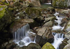 Mountain stream Stock Photos